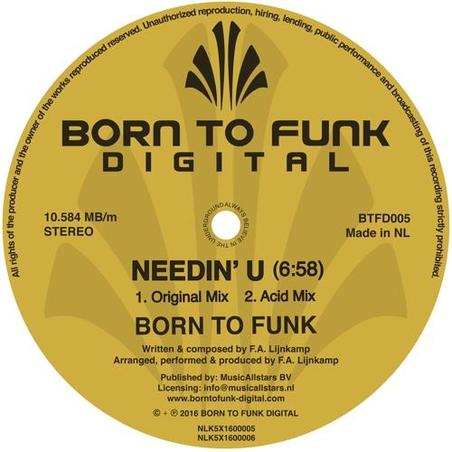 Born To Funk - Needin' U