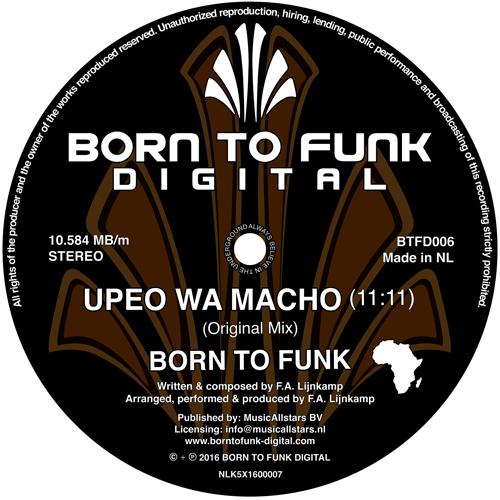 Born To Funk - Upeo Wa Macho